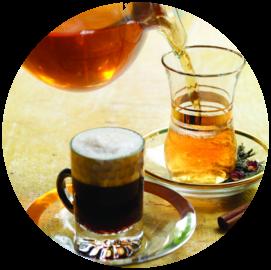 Хостел, чай на кухне